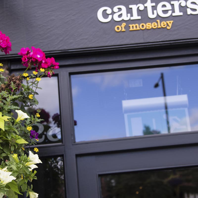 Carters of moseley - contact us