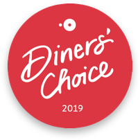 Opentable Diners choice award 2019